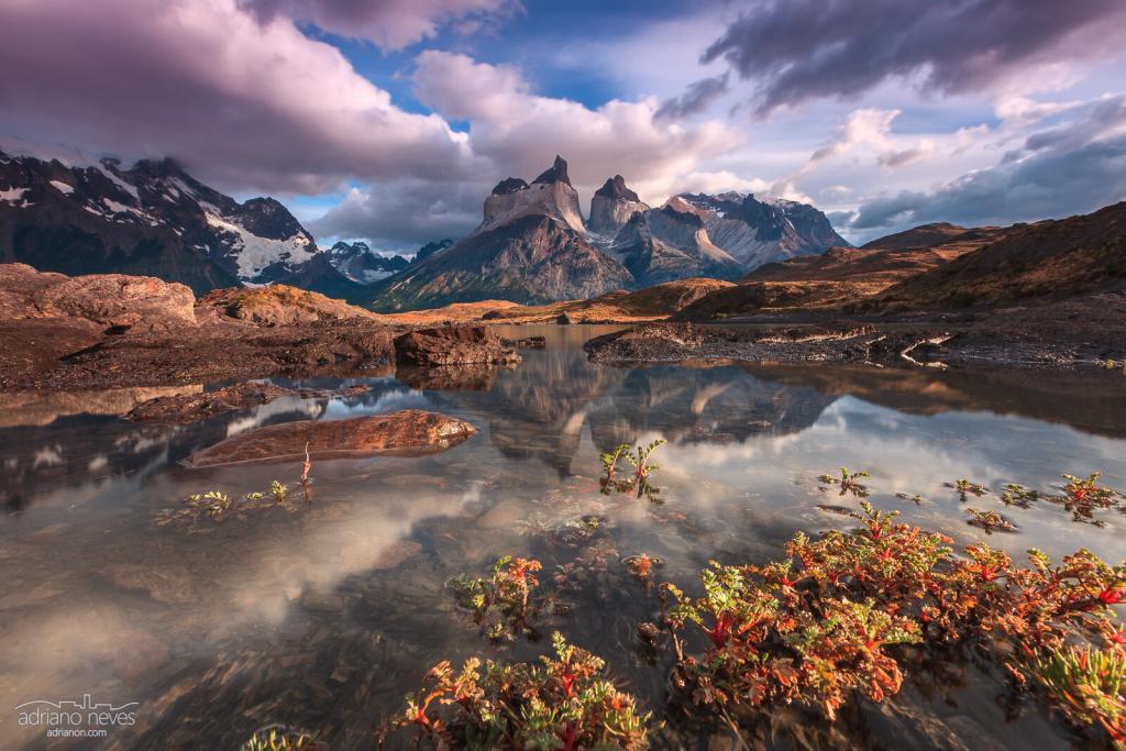 Cuernos del Paine mountains - Torres del Paine - Travel Photography / Fotografia de Viagem - © Adriano Neves - acseven