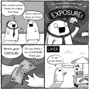 The Oatmeal - Matthew Inman - Exposure comic